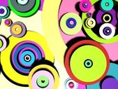 Multicolored circles — Stock Photo
