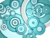 Blue circles — Stock Photo