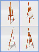 Easels — Stock Photo