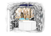 Bar grotto — Stock Photo