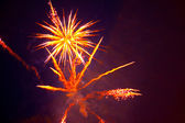Beautiful fireworks-2 — Stock Photo