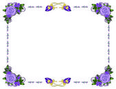 Lilac Frame — Stock Photo