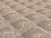 Beige fabric with flowers — Foto Stock