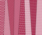 Fabrics with patterns — Stock Photo