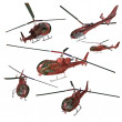 Stock Photo: Helicopters