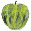 Glass apple — Stock Photo