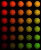 Gradient balls — Stock Photo