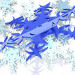 Stock Photo: Snowflake