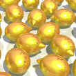 Stock Photo: Golden lemons