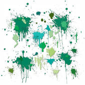 Green blob — Stock Photo
