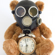 Gas mask. - Stock Photo