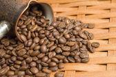 Turkish coffee pot. — Stock Photo