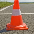 Royalty-Free Stock Photo: Cone on a road.