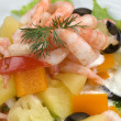 Stock Photo: Prawn salad.