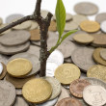 Financial growth.Conceptual image. — Stock Photo