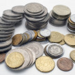 Coin pile . - Stock Photo