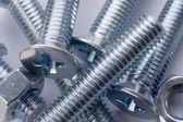 Bolts and screws. — Stock Photo
