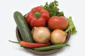 Fresh vegetables. — Stock Photo