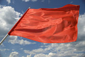 Red flag. — Stock Photo