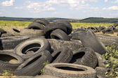 Tyre heap. — Stock Photo