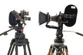 Dos profesionales 35mm cámara. — Foto de Stock