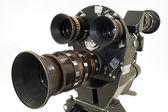 Professional 35 mm the movie camera. — Stock Photo