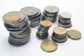 Stacks of coins. — Stock Photo
