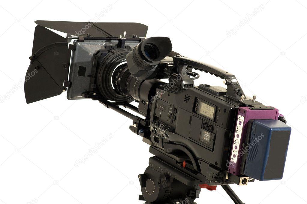 Professional digital video camera. — Stock Photo ...