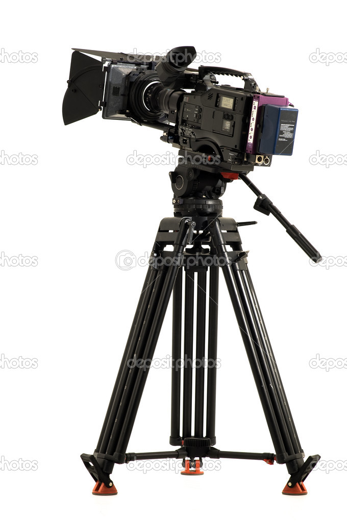 Professional digital video camera — Stock Photo ...