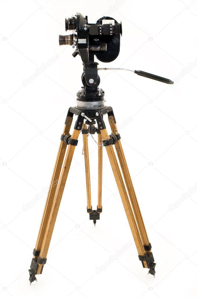 the movie camera and tripod � stock photo 169 botsman141