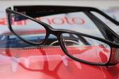 Schwarzen Brillen — Stockfoto