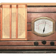 Stock Photo: Antique radio