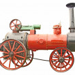 Antique steam tractor — Stock Photo #1273026