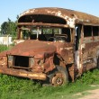 Royalty-Free Stock Photo: Abandoned bus