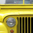 Yellow Jeep Willys — Stock Photo