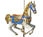 Carousels Horse — Stock Photo