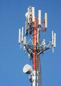 Cylindryczne anteny — Zdjęcie stockowe