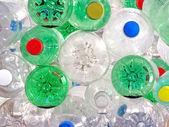 Plastik meşrubat şişeleri — Stok fotoğraf