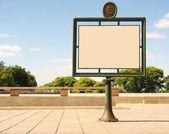 Publicity board — Stock Photo