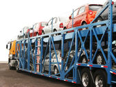 Auto Transport — Stock Photo