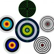 Set of targets — Stock Vector #2269563