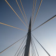 Promenade Bridge Winnipeg — Stock Photo