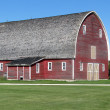 Canadian Barn - Stock Photo
