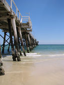 Henley Beach Jetty - South Australia — Stok fotoğraf