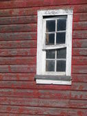 Barn Window — Stock Photo