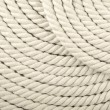 White coiled rope — 图库照片