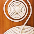 White coiled rope — Stock Photo #1304843