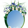 Royalty-Free Stock Vector Image: Floral frame