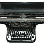 Постер, плакат: Old black typewriter