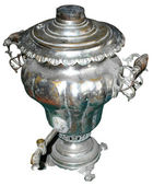 Russian samovar — Stock Photo